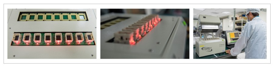 Burn in tester for DRAM Module   Test During Burn In from IC to