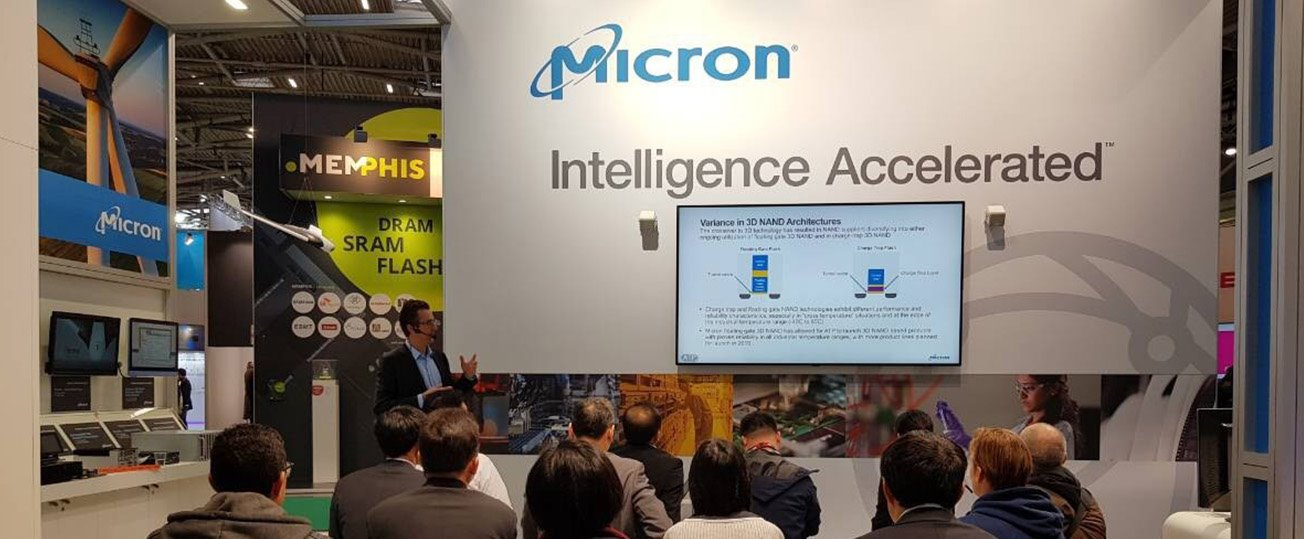 Micron Teck talks