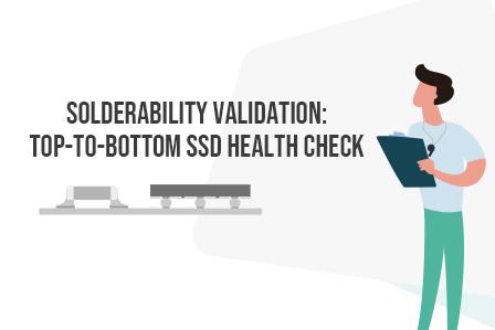 SSD PCBA test